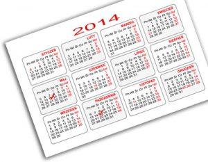 kalendarze listkowe (kalendarzyki) jako tania forma reklamy