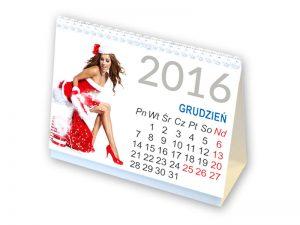 Kalendarze biurkowe na spirali format A5, 12 kartek na poszczególne miesiące. Indywidualny projekt kart (nawet 12 projektów)