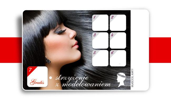 Karnet firmy kosmetycznej