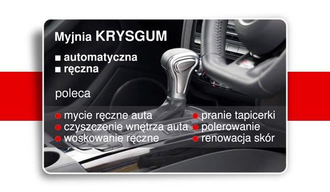 Przykładowa wizytówka dla usług motoryzacyjnych