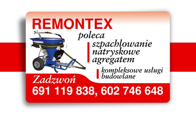 Wizytówka firmy remontowej