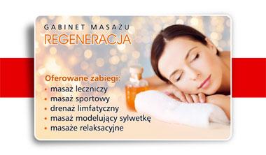 gabinet masażu nie może funkcjonować bez wizytówek