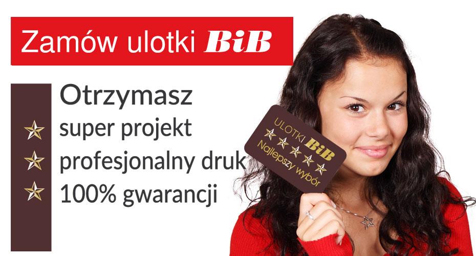 BiB Ulotki Olsztyn, Zakole 17 Zapraszamy
