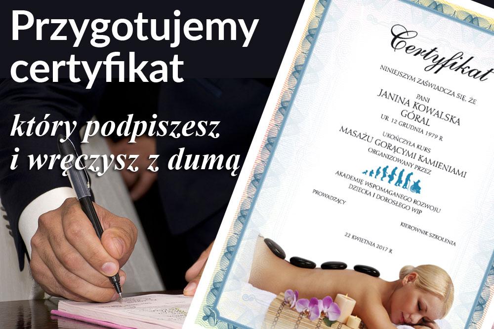 Certyfikaty Olsztyn, ul. Zakole 17